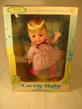 """*NEW* Vintage 11.5"""" DOLL Horsman LOVELY BABY Drinks Wets [g2] - $43.32"""