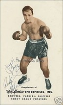 Rocky Marciano autographed photo print - $3.85
