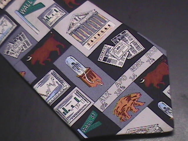 Designed For Wall Street Creations Neck Tie Silk Greys
