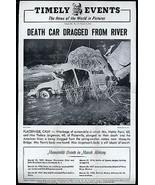 Auto Accident Placerville CA American River Mosquito Bridge 1946 - $14.99