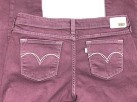 Levi's Girl's Pink Skinny Jeans w White accents Stretch Denim Size 29 W 29 L - $13.50