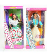 Barbie Dolls of the World Mexican 14449 92' Malaysia Native American 185... - $39.59