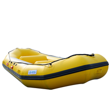 BRIS 1.2mm 12ft Inflatable White Water River Raft Inflatable Boat FloatingTubes image 7