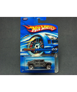 Hot Wheels Chrome Burnez Humvee #2006-067 #2 - $2.95