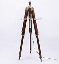 NauticalMart Brown Sheesham Wood Tripod Lamp Base - $98.01