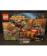 Lego 76013 set DC Super Heroes Batman The Joker Steam Roller sealed 486 ... - $54.72
