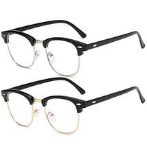 Blue Light Blocking Glasses for Women Men Half/Square Frame Anti Eyestra... - $13.79