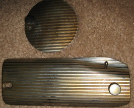 Singer 201 Face and Inspection Plates w/Screws - $15.00