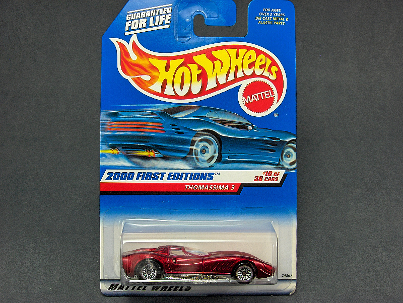 Hot Wheels Thomassima 3 #2000-070