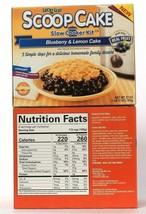 2 Boxes Lucky Leaf 27 Oz Scoop Cake Blueberry & Lemon Cake Slow Cooker Kit - $21.99