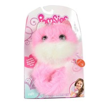 Skyrocket Pomsies Pet PINKY Interactive/Wearable Pom-Pom Pet Plush Toy New - $24.70