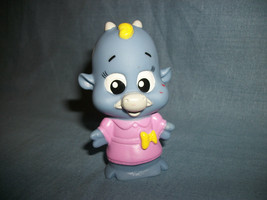 """Little Tikes Blue Cow With Pink Dress 3"""" - $1.09"""