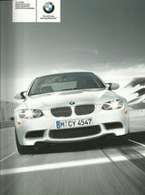2009 BMW M3 Coupe Sedan Convertible sales brochure catalog US 09 V8 - $12.00