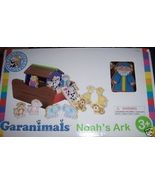 Garanimals Noah's Ark Playset Natural Wood Develops Motor Skills Vibrant... - $15.00