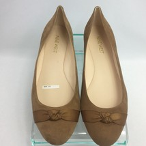 Nine West Ballet Flats 7.5 M Benna Camel in Box Womens Shoes - $39.99
