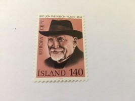 Iceland Europa 140c mnh 1980     stamps - $1.20