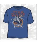 "Star Wars X-Wing Fighters ""My Squadron"" T-Shirt NEW UNWORN - $22.24"