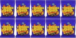 Tyrkisk Peber (Turkish Pepper) Candy X 10 Bags 150g Fazer Finland *Best Value - $29.69