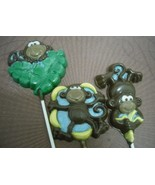 3 Large Monkey Lollipops - $7.00