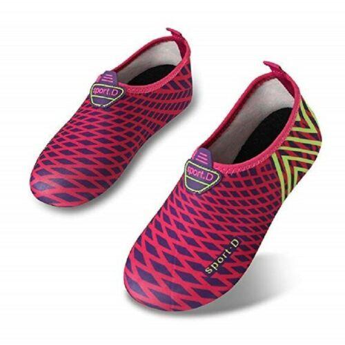 8.5-9B Women's L-RUN Water Shoes Barefoot Shoe Run Dive Surf Swim Beach Yoga