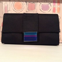 MAC ENCHANTED EVE MAKEUP BAG! :) Black w/Stripes Flap Closure TEN SAMPLE... - $14.85