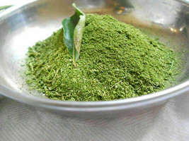 Fresh Dried Ceylon Curry Leaves Powder 100% natural Organic from sri lanka - $3.95+