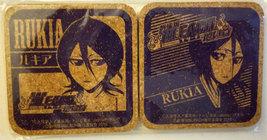 "Bleach ""Rukia"" Set of (2) Cork Coasters * Anime * Pierrot - $6.88"