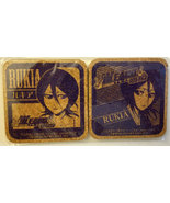 "Bleach ""Rukia"" Set of (2) Cork Coasters * Anime * Pierrot - $6.88"
