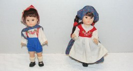 VINTAGE 1977 VOGUE GINNY GIRL DOLLS OF DIFFERENT COUNTRIES Lot of 2 GUC - $8.99