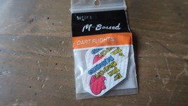 3 NEW Vintage Dart Flights EAT YOUR HEART OUT IM MARRIED - $4.94