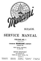 Canadian MARCONI Service Manual Volume 1 * CDROM * PDF - $8.99