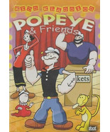 Kids Klassics Popeye & Friends Dvd - $2.95