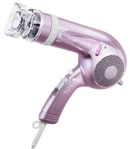 Tescom Hair Dryer ione Negative Ion Silky Pink TID 134 - P Import Japan - $58.41