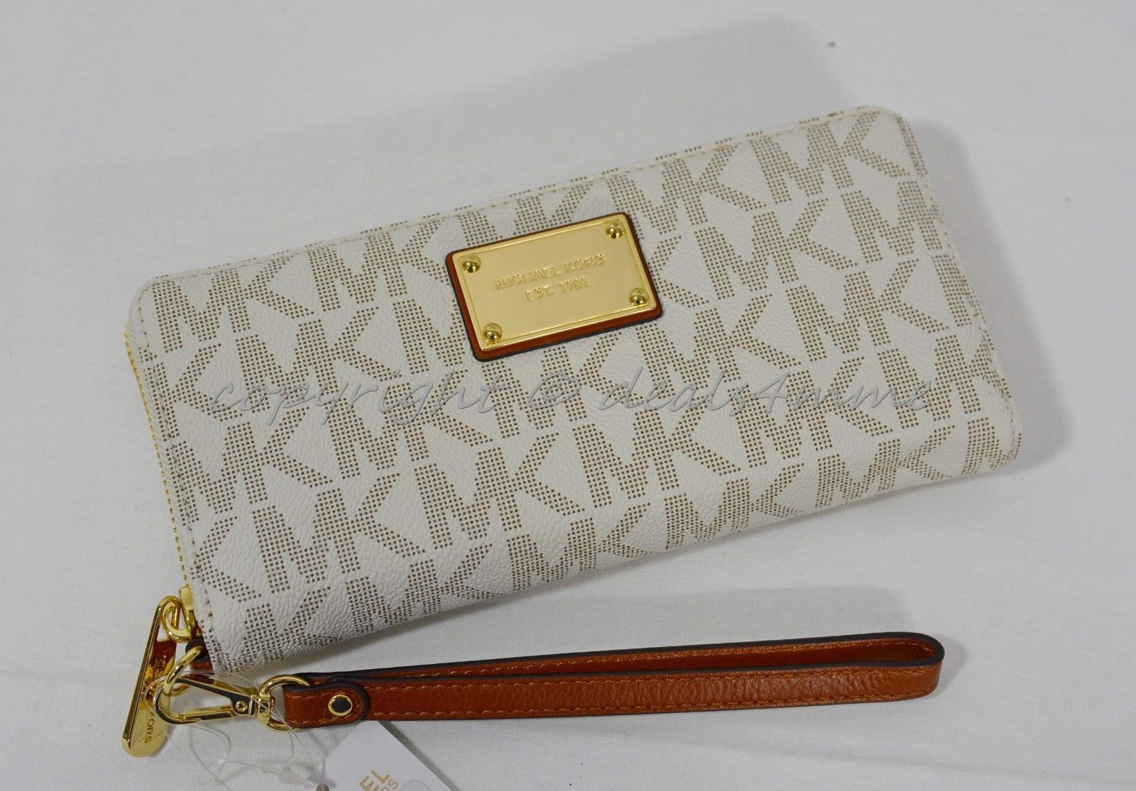 a0f7241c30d6 NWT Michael Kors Signature Jet Set Travel and 50 similar items. S l1600