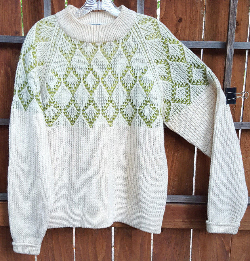 Vtg SAXONY Sweater-L-100% Virgin and 50 similar items a9d8ac8f0351c