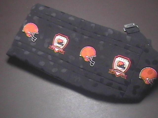 Cleveland Browns Football Lord West Dress Cumberbund 1994 Team NFL