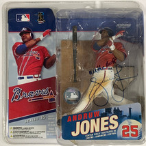 Andruw Jones signed 2006 Atlanta Braves McFarlane Sports Picks Action Fi... - $44.95