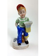 Occupied Japan 1947-1952 Newspaper Boy with Blue Pants - $11.90