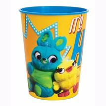 Toy Story 4 Ducky Bunny Keepsake Stadium 16 oz Plastic Cup 1 Ct Party Su... - $2.56