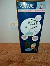 PEANUTS ORIGINAL MUSICAL CHARLIE BROWN CHRISTMAS TREE 24 INCH   - $24.99