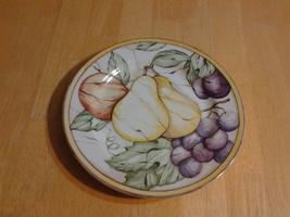 "American Atelier Pompei Fruit 8"" Plate #5019 Porcelian - $5.35"
