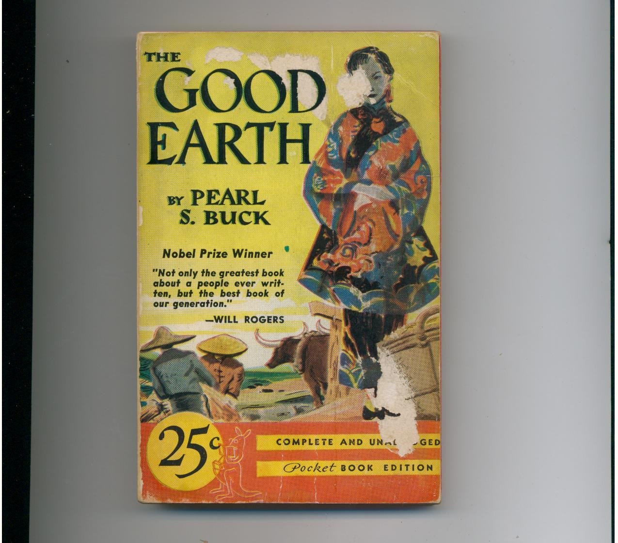 Buck - THE GOOD EARTH - 1939 - 1st pr. of Pocket #11