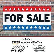 HALF PRICE BANNERS | for Sale Vinyl Banner -Indoor/Outdoor 2X4 Foot -Stars | Inc