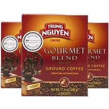Trung Nguyen - Gourmet Blend - 500 Grams Box 2 Pack | Vietnamese Coffee ... - $27.26
