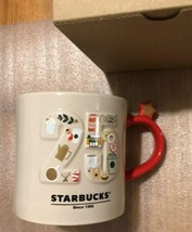 Starbucks No 25 Mug Cup 355ml Porcelain Limited 25th Anniversary From Japan New - $64.59