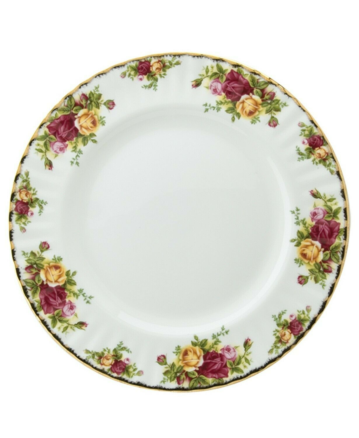 ROYAL ALBERT OLD COUNTRY ROSES DINNER PLATE  NEW (S) - $39.59