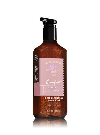 Bath & Body Works COMFORT - VANILLA & PATCHOULI Deep Cleansing Hand Soap (2)