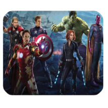 Mouse Pad Marvel Super Heroes American Movie The Avengers For Gaming Fantasy  - $9.00