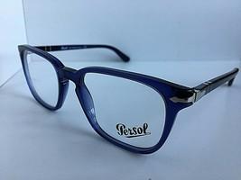 New Persol 3117-V 1015 Cobalto Blue 51mm Men's Eyeglasses Frame Italy  - $84.99