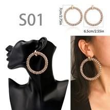 Fashion 2020 Earring for Women Big Drop Earrings Starfish/Geometric/Crys... - $10.29